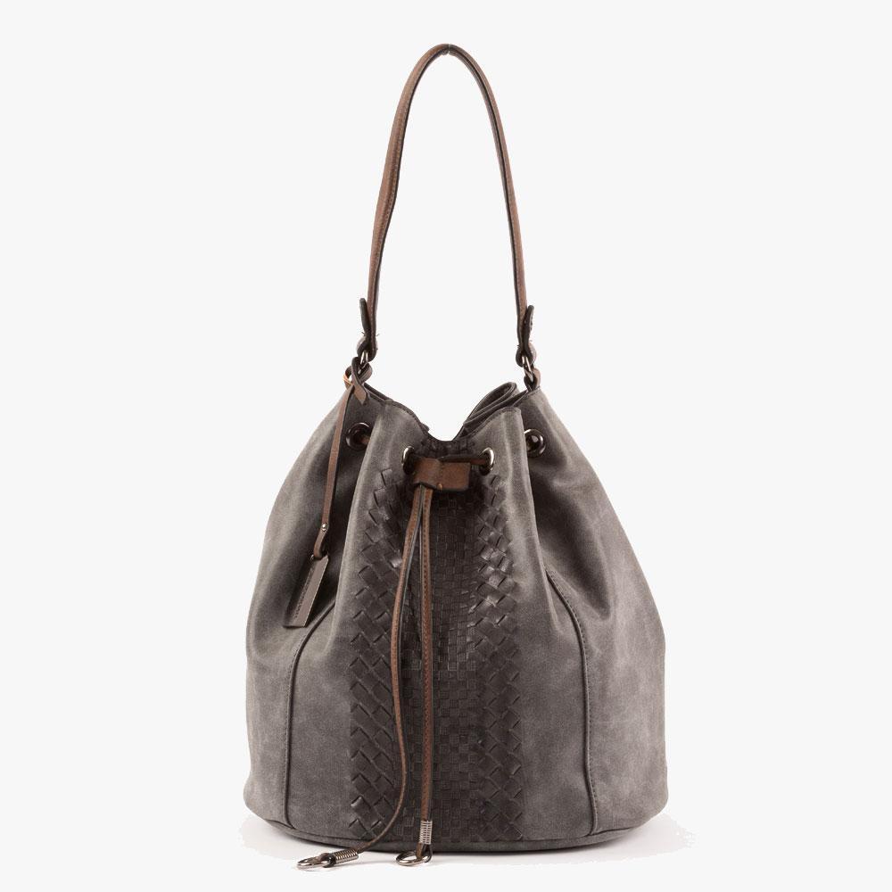 Γυναικεία Τσάντα Ώμου (405-60272-taupe)