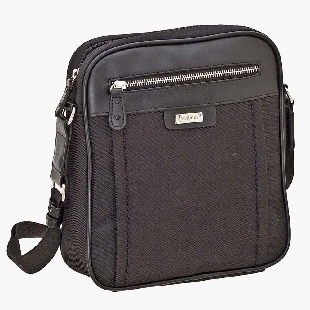 Ανδρική Τσάντα Ταχυδρόμου (118-2453-black)