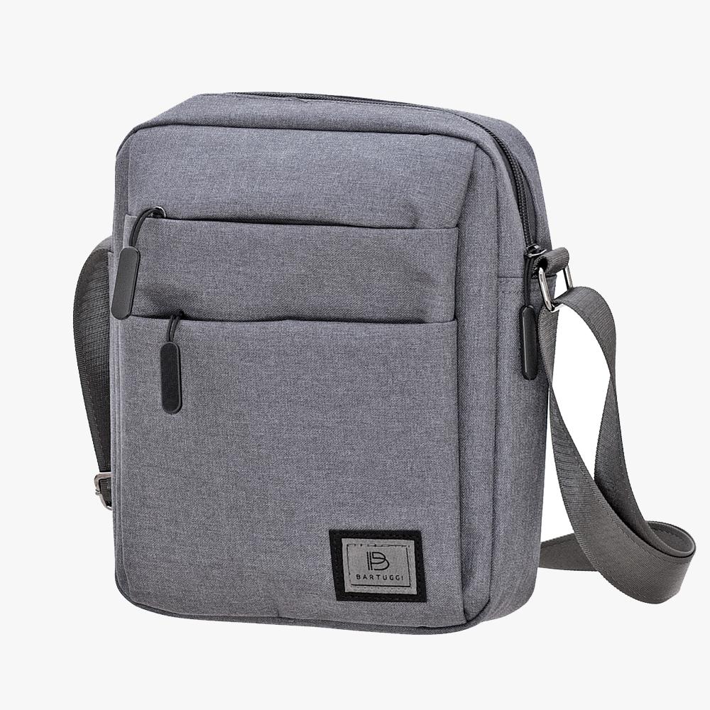 Ανδρική Τσάντα Ταχυδρόμου (718-102534-grey)