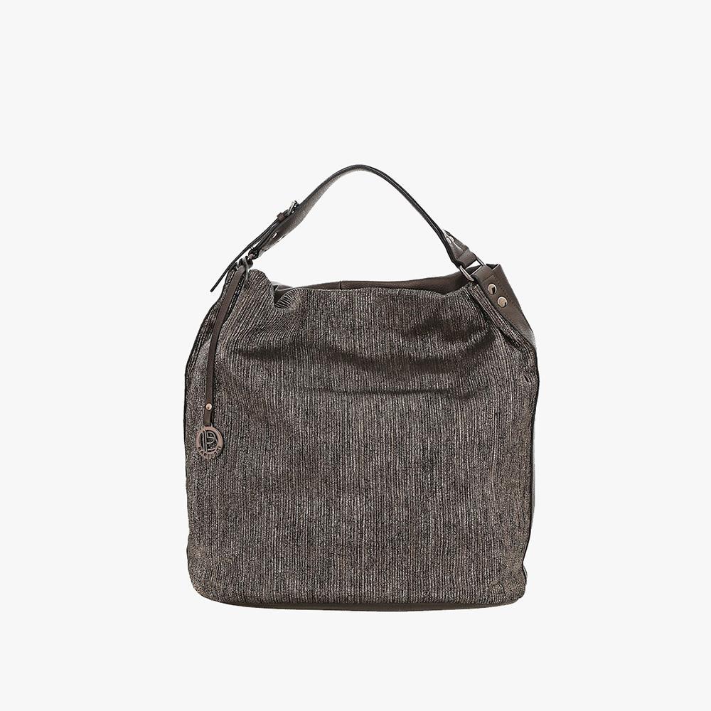 Γυναικεία Τσάντα Ώμου (370-393-grey)