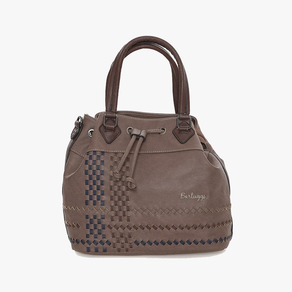Γυναικεία Τσάντα Ώμου (600-1849-2-brown)